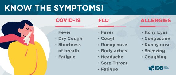 Covid 19 Coronavirus Information Page Iadb