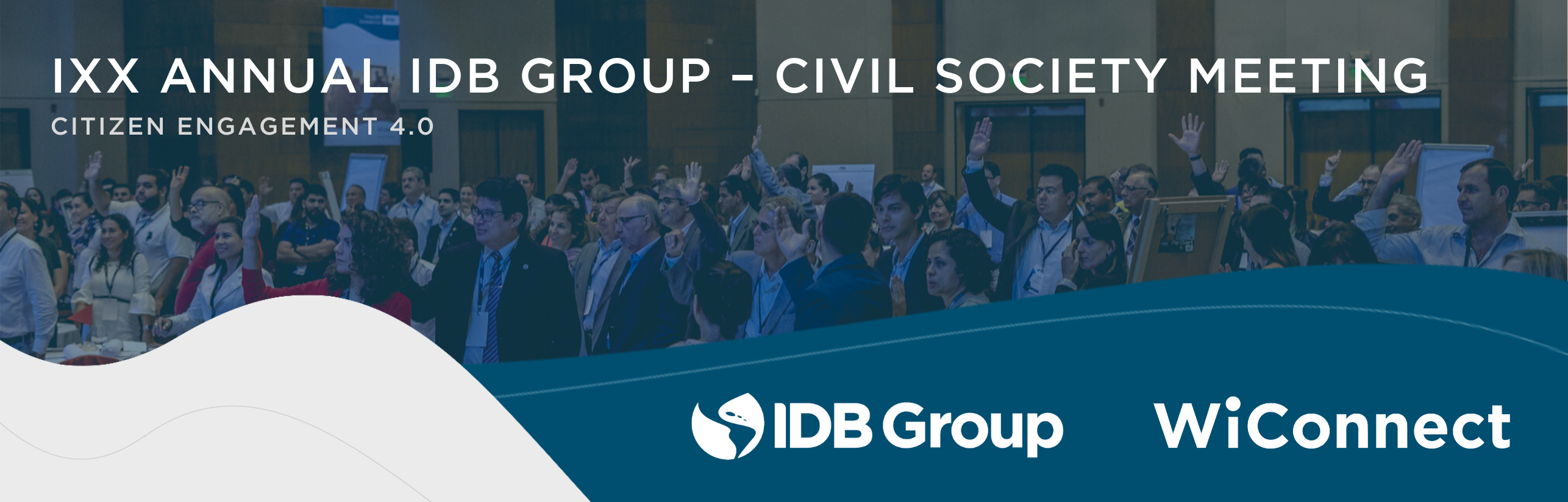 IXX Annual IDB Group - Civil Society Meeting: Citizen Engagement 4.0