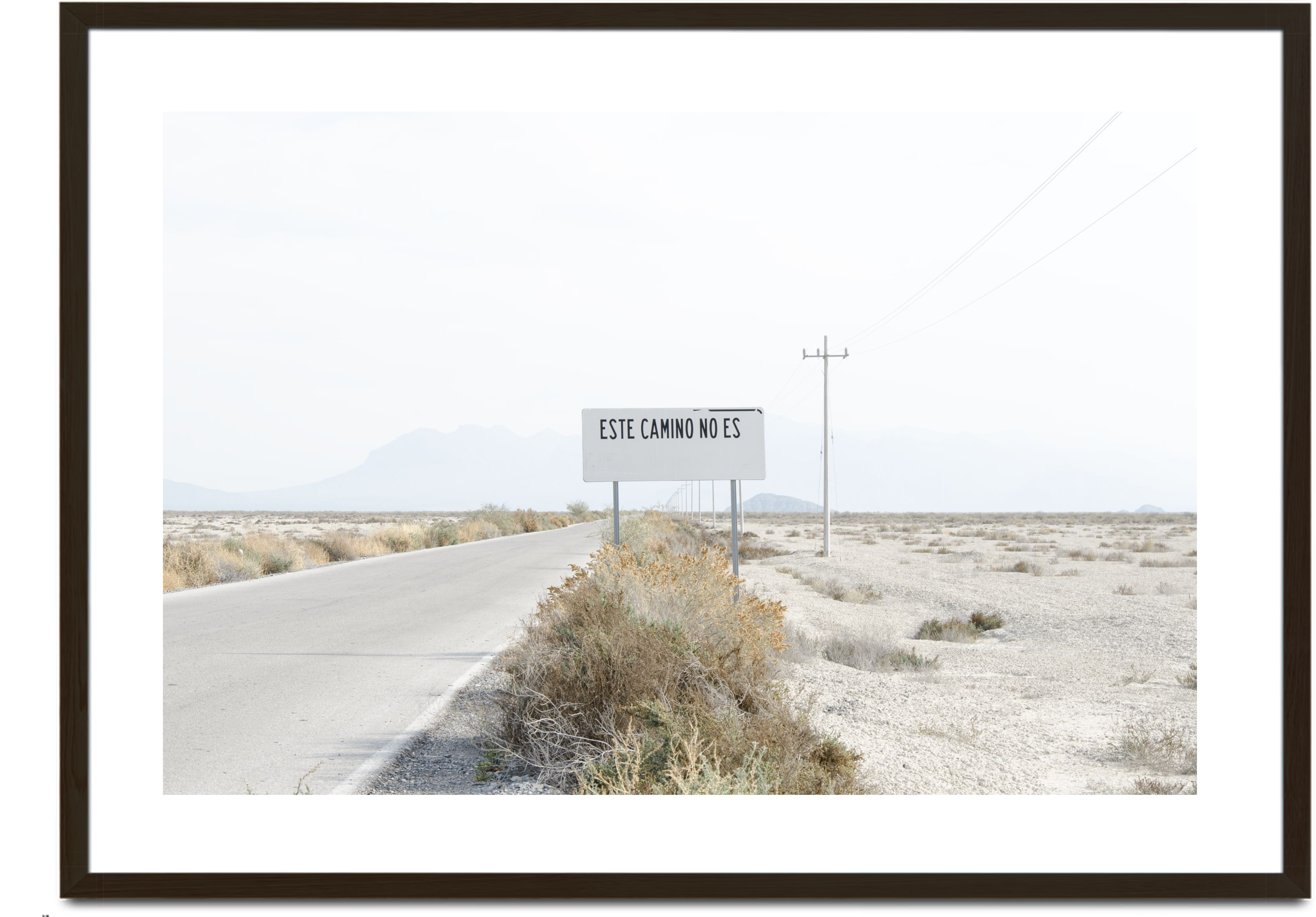 Este camino no es (This is Not the Way), 2017
