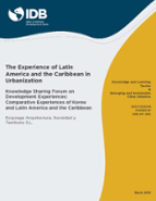 The Quality of Life in Latin American Cities (Latin American Development Forum)